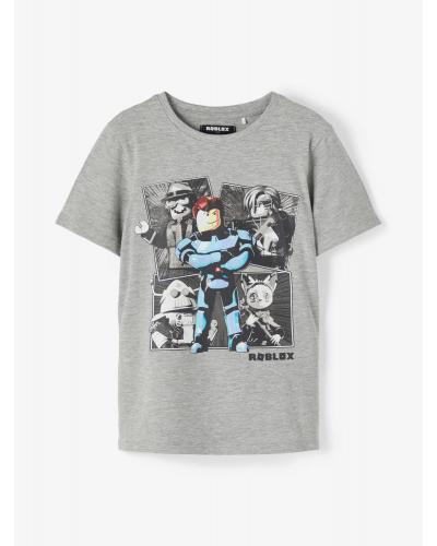 Roblox Mitchell T-shirt Grey Melange