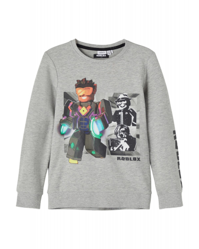 Roblox Mose Sweatshirt Grey Melange