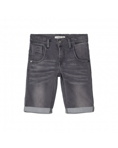 shorts medium grey denim