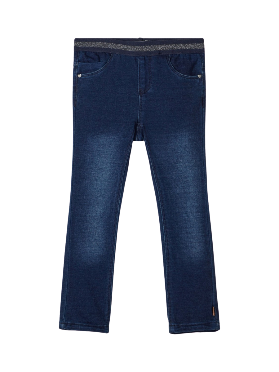 Jeggings Dark Blue Denim