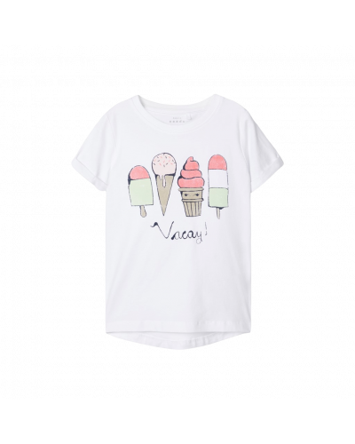 t-shirt bright white vacay is