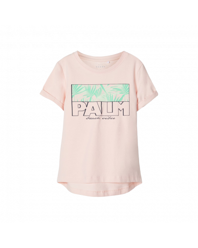 t-shirt bright porpourri palm