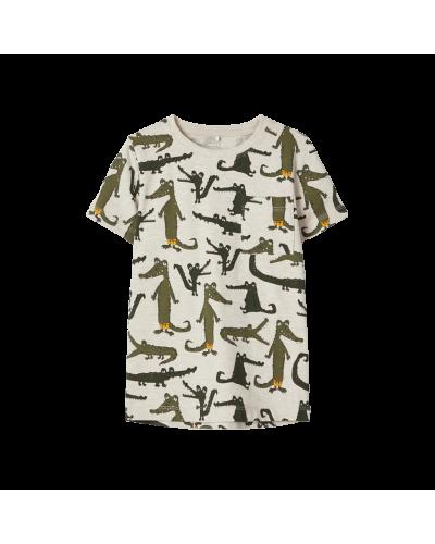 T-shirt Krokodille Peyote Melange