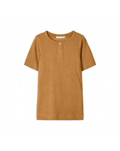 T-shirt Bone Brown