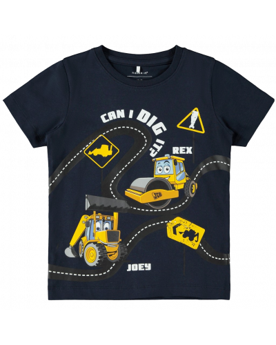 T-shirt Osvald Dark Sapphire
