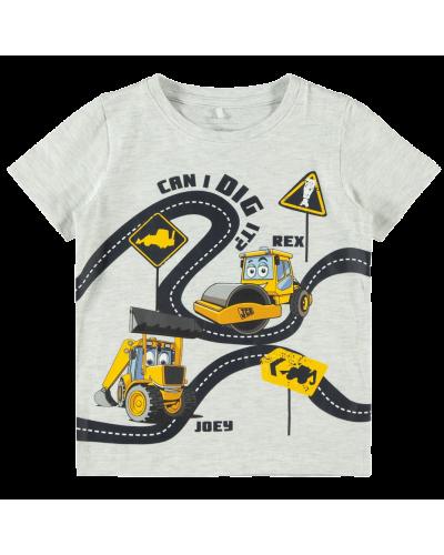 T-shirt Osvald Light Grey Melange