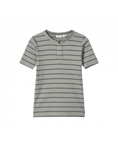 T-shirt rib shadow stribet