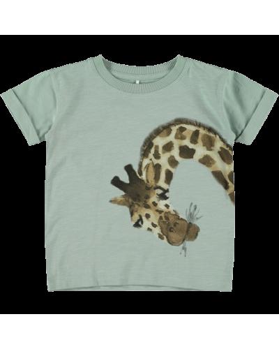 T-shirt m. giraf Jadeite