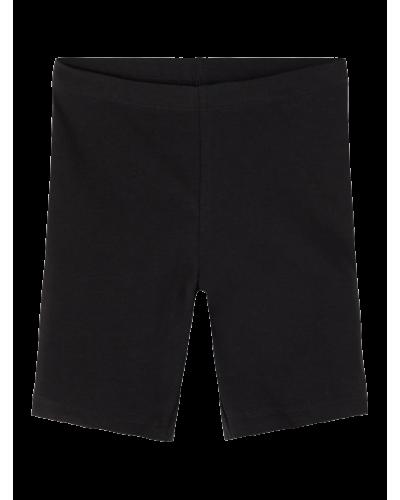 Vivian Solid Short Leggings Black