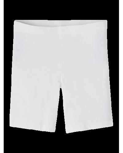 Vivian Solid Short Leggings Bright White
