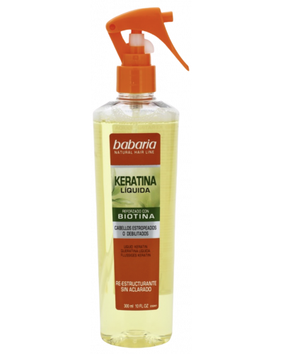 Natural Hair Line Keratin Spray