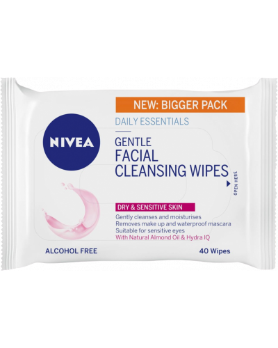 Gentle Facial Cleansing Wipes
