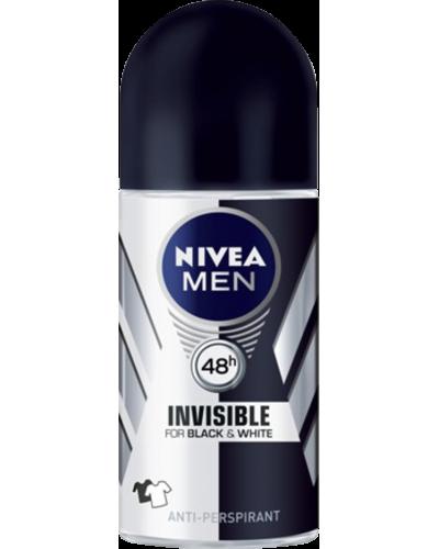 Men Invisible Roll-On Deodorant Black & White