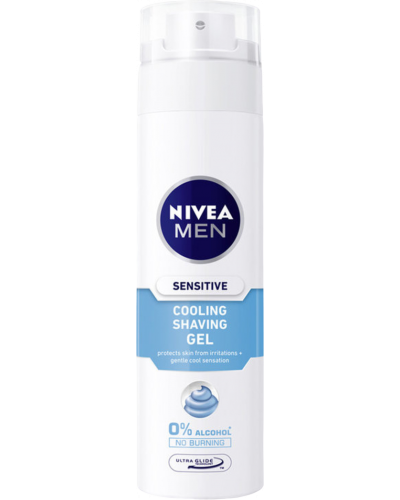 Men Sensitive Cooling Shaving Gel