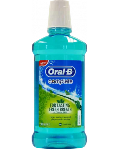 Complete Mouthwash Fresh Mint