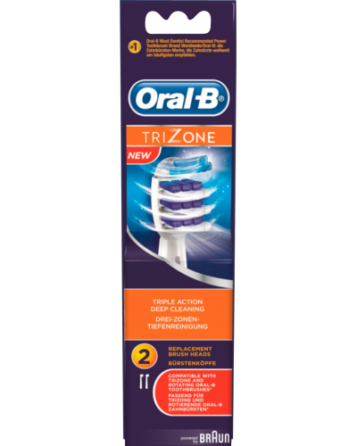 Trizone Tandbørstehover Refill