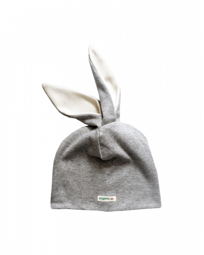 Organic Zoo Hat Rabbit Grey