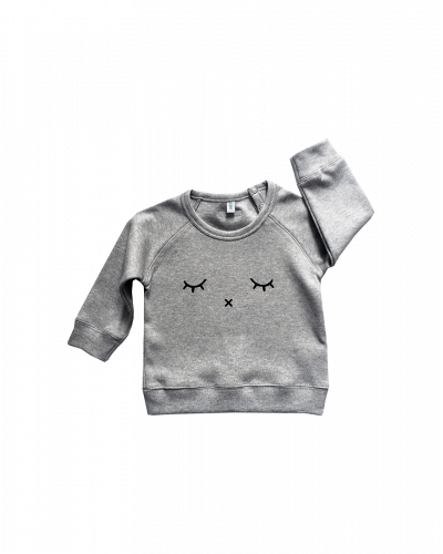 Organic Zoo Sweatshirt Grey Sleepy