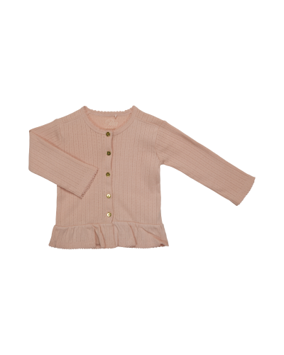 cardigan Eugenie cameo rose