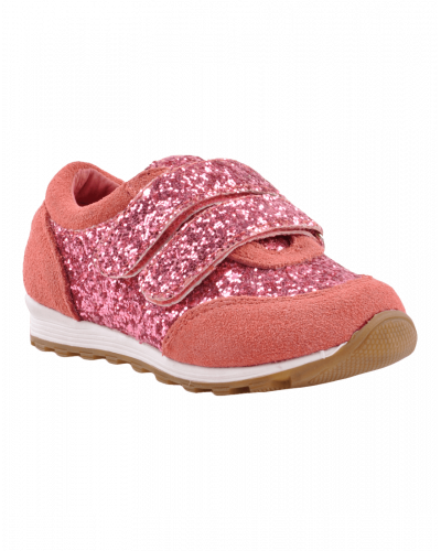 Petit by Sofie Schnoor Glitter Sneakers Coral