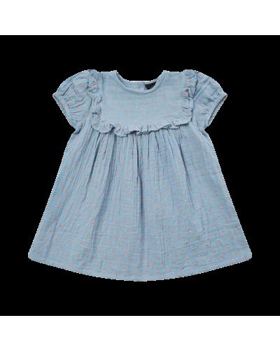 Kjole Linnea Blue
