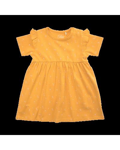 Kjole Synne Mustard
