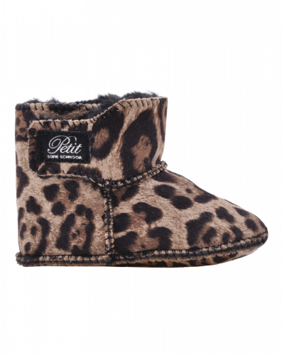 Baby Boots Leopard