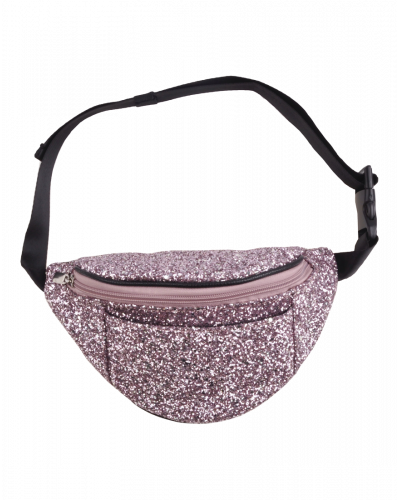 Bæltetaske Light Rose Glitter