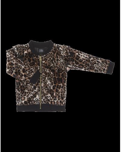 Petit by Sofie Schnoor Bomber Leopard Jakke