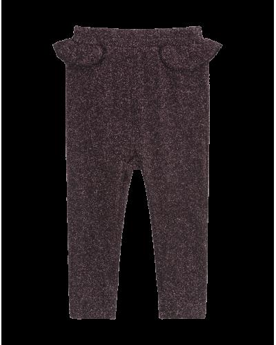 Bukser Sort/Rosa Glitter