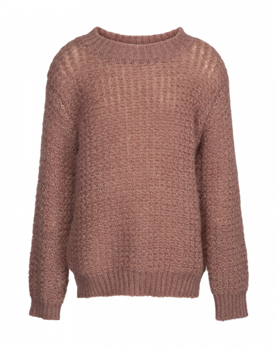Petit by Sofie Schnoor Strikbluse Dusty Rose