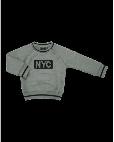 NYC Sweatshirt Alfred Dusty Green