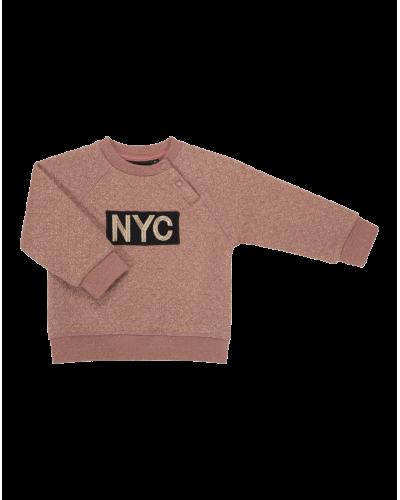 NYC Sweatshirt Emily Dusty Rose