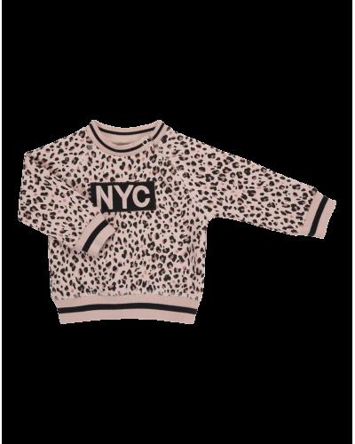NYC Sweatshirt Light Rose Leo