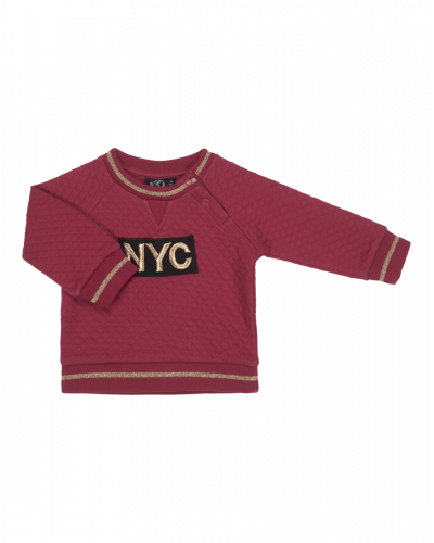 Petit by Sofie Schnoor Sweat NYC Earth Red