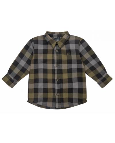 Shirt Brown Check