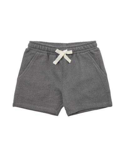 Shorts Leo Washed black