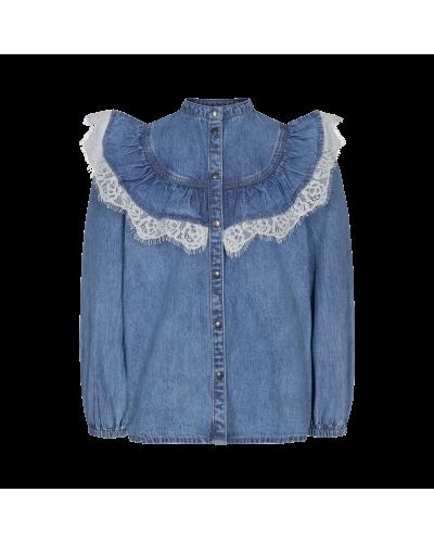 Skjorte Altana Blue Denim