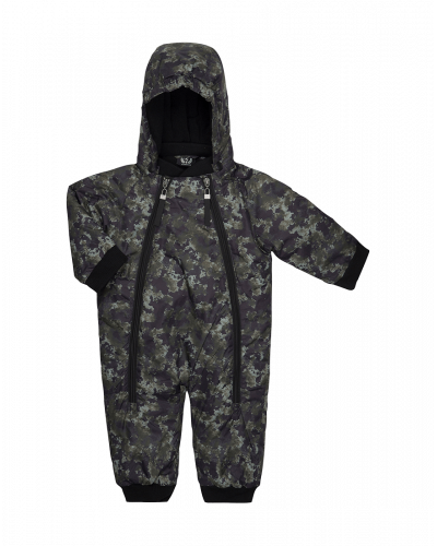 Petit by Sofie Schnoor Snow Suit Army Mix