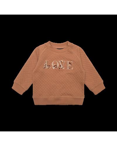 Sweatshirt Emily Rosy Brown