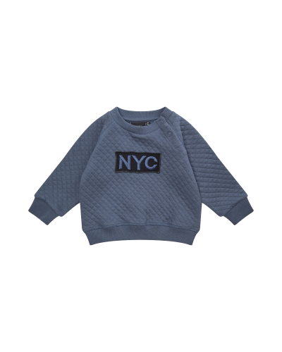 Sweatshirt NYC Alfred Middle Blue