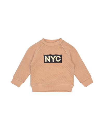 Sweatshirt NYC Emily Rosy Camel