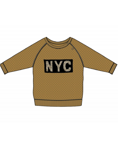 Sweatshirt NYC Emily Yellow