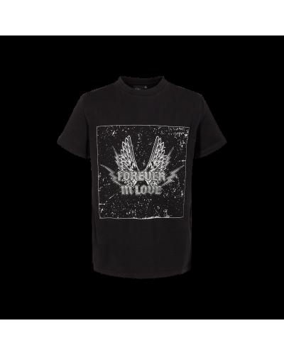 T-shirt Asta Sort