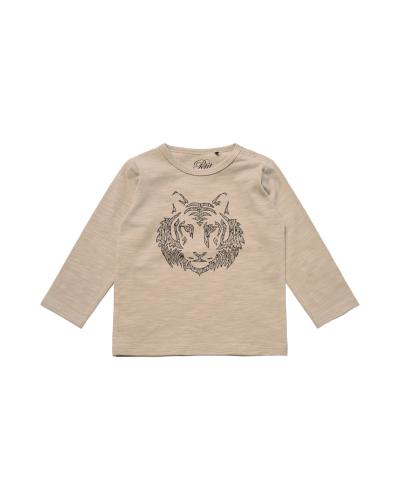 T-shirt LS Light Grey