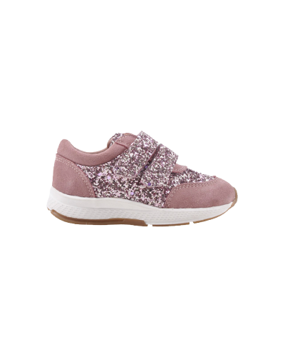 Velcro Sneakers Rose Glimmer