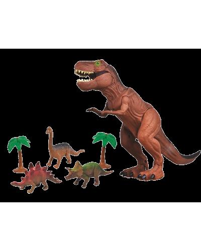 Gående Dinosaur Legesæt m/Lys & Lyd