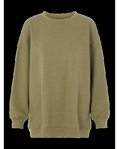 Chilli LS Oversized Sweatshirt D2D Deep Lichen Green