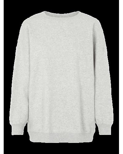 Chilli LS Oversized Sweatshirt D2D Light Grey Melange