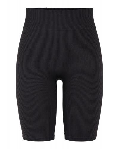 Cleo Rib Shorts Black